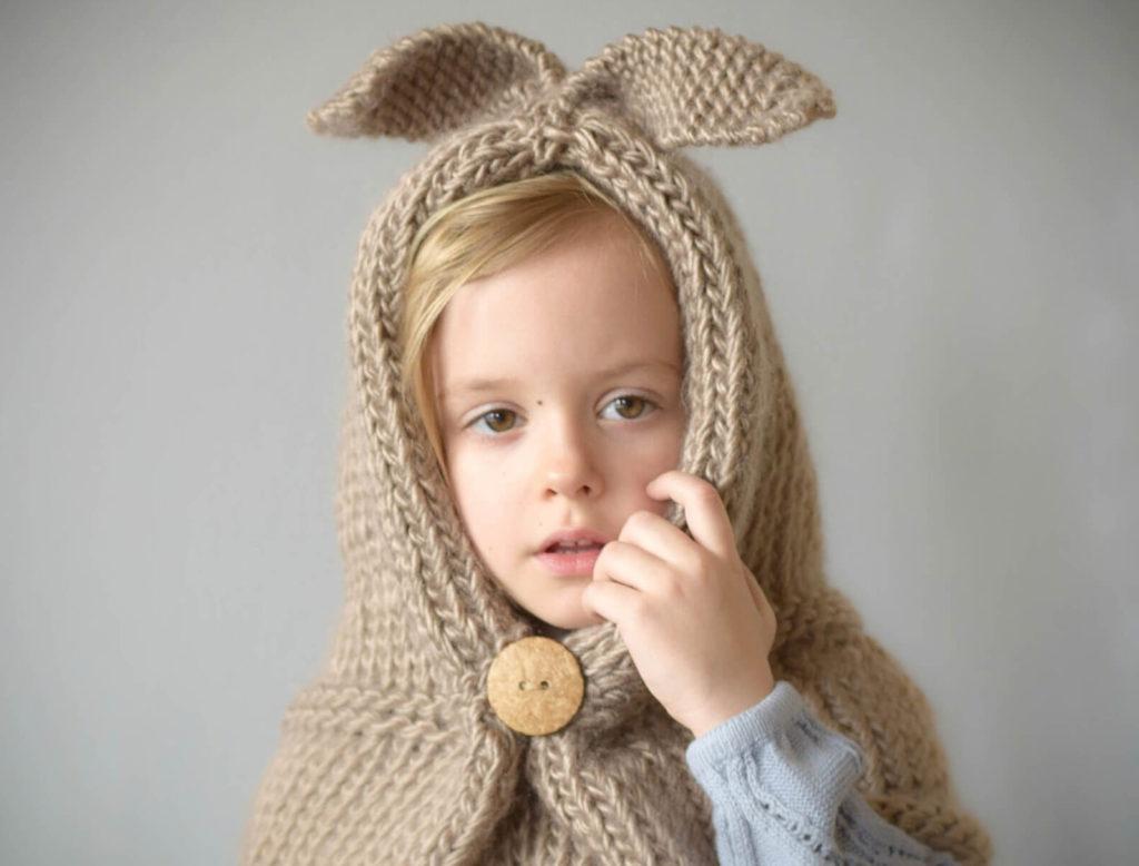 шапка-капюшон для детей