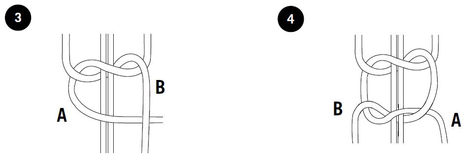 квадратный узел 2