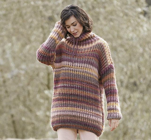свитер в спортивном стиле